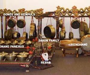 Gambar alat musik gamelan