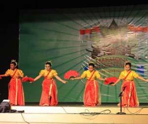 Jumlah penari tari soyong