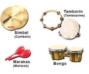 Gambar alat musik ritmis